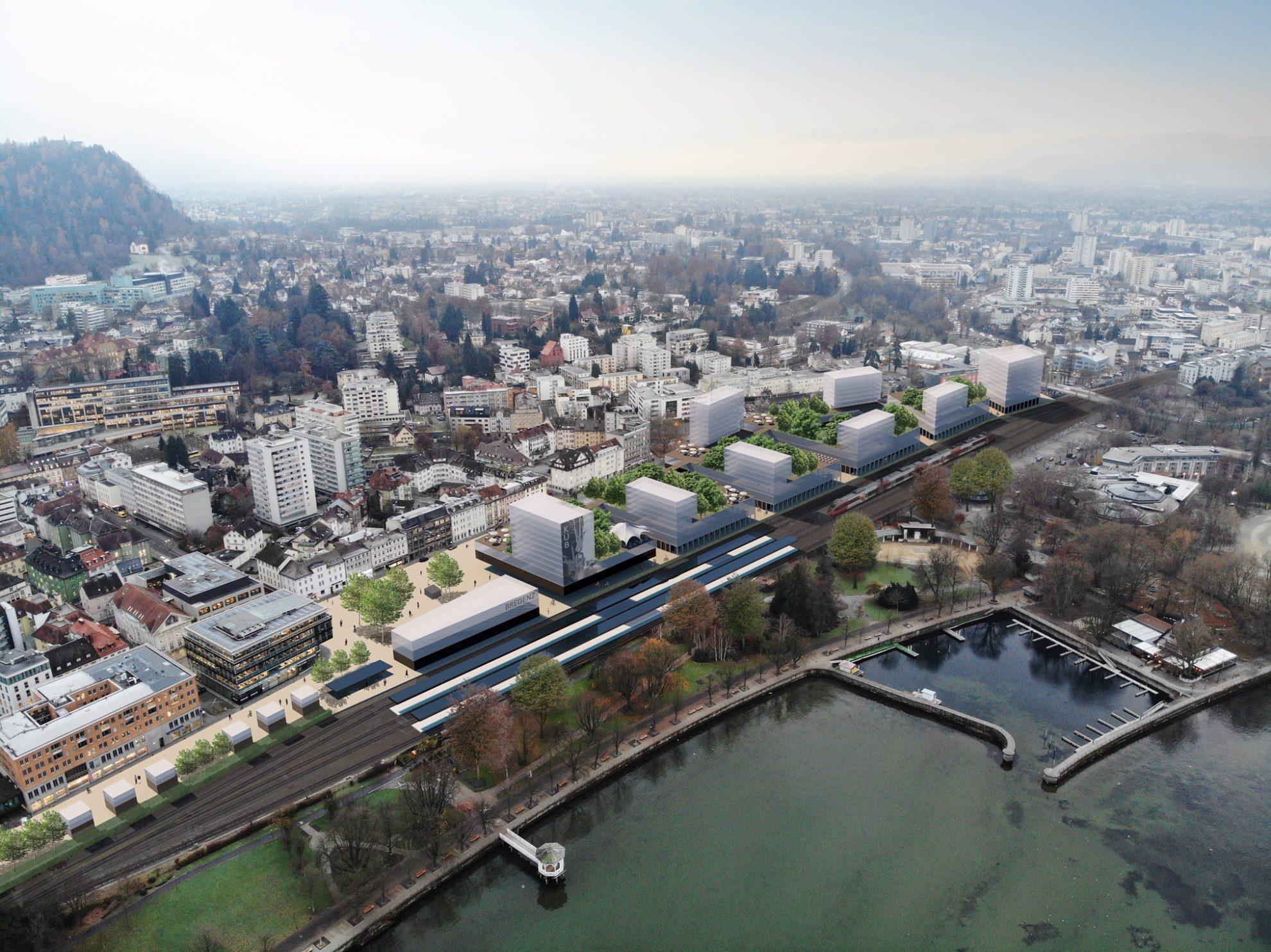 Vision Urbanes Leben Bregenz