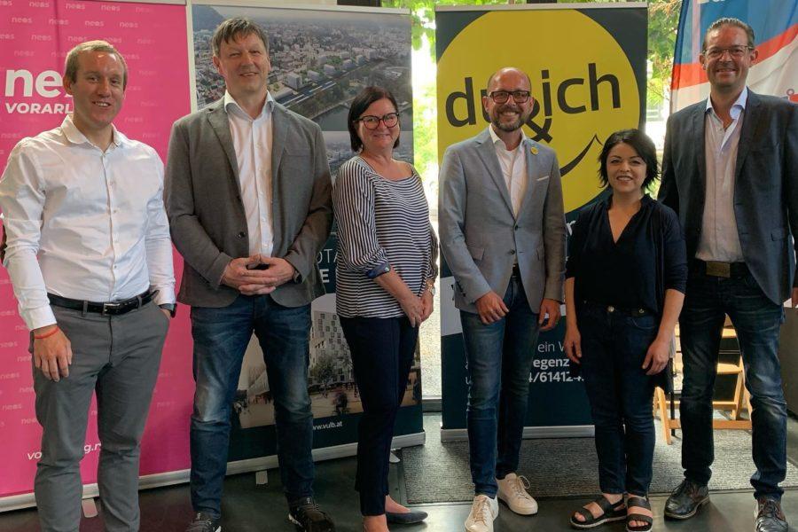 NEOS, Team:Bregenz und FPÖ
